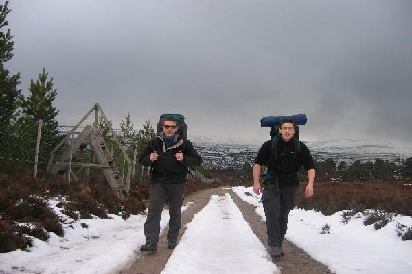 besneeuwde bergen wordt je blij van